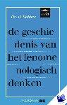 Bakker, R. - Vantoen.nu Geschiedenis van het fenomenologisch denken - POD editie