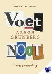 Grunberg, Arnon - Voetnoot - Eerste verzameling