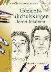 Lamérand, Jean Pierre - Modellenboek voor de tekenaar- Gezichtsuitdrukkingen leren tekenen