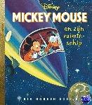 Werner, Jane - Mickey Mouse en zijn ruimteschip, Gouden Boekjes, Jane Werner, Walt Disney Studio