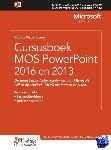 Studio Visual Steps,  Uithoorn - Cursusboek MOS PowerPoint 2016 en 2013