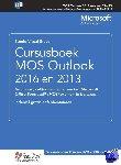 Studio Visual Steps - Cursusboek MOS Outlook 2016 en 2013