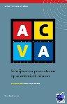 - ACVA schrijven en presenteren op academisch niveau