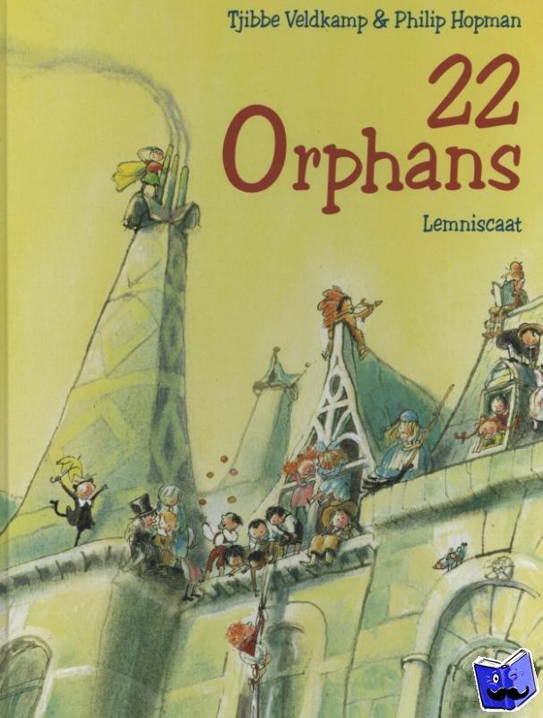Veldkamp, Tjibbe - 22 Orphans