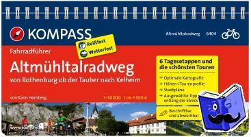 Hornberg, Karin - RF6404 Altmühltal-Radweg, von Rothenburg od Tauber nach Kelheim Kompass