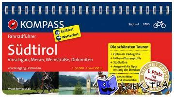 Heitzmann, Wolfgang - RF6700 Südtirol, Vinschgau, Meran, Weinstraße, Dolomiten Kompass