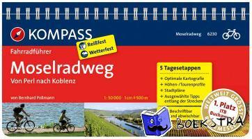 Pollmann, Bernhard - RF6230 Moselradweg Kompass