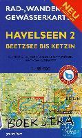 - Rad-, Wander- und Gewässerkarte Havelseen 2: Beetzsee bis Ketzin