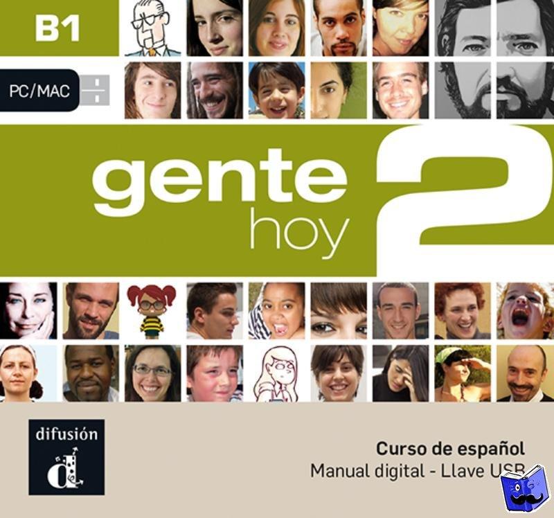 - Gente hoy 2 - B1 - Llave USB con libro digital