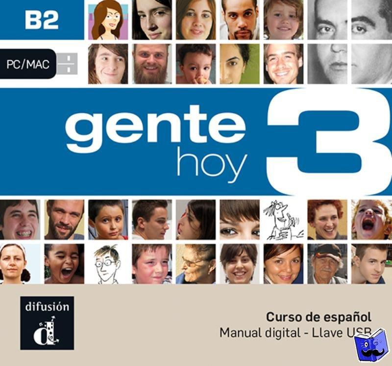 - Gente hoy 3 - B2 - Llave USB con libro digital