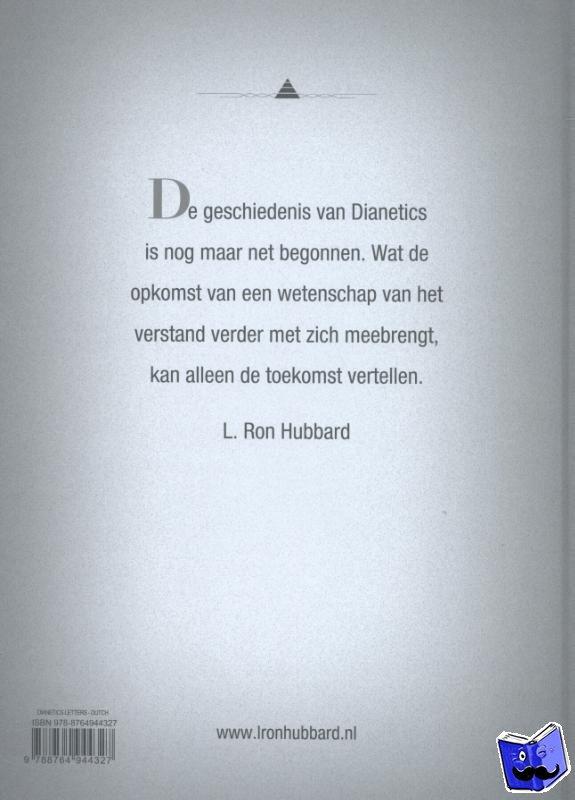 - Dianetics: Brieven en Dagboeken