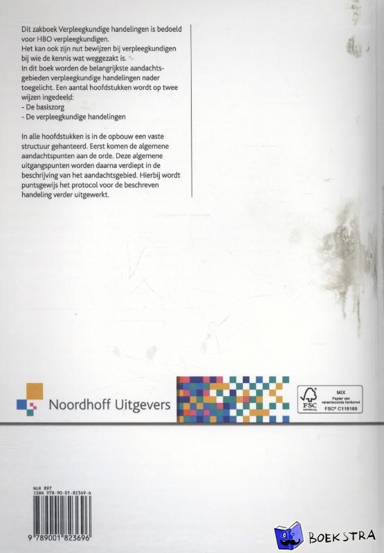 Brink, Nette ten, Smink, Marjolein, Witkamp-van der Veen, Josje - Zakboek verpleegkundige handelingen