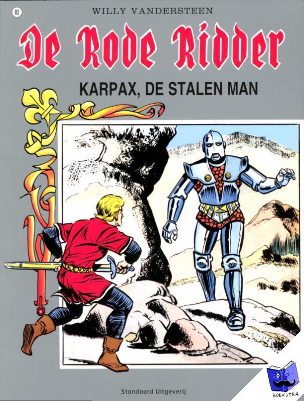 Vandersteen, Willy - De Rode Ridder Karpax, de stalen man 082