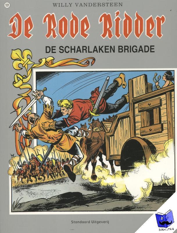 Vandersteen, Willy - De scharlaken brigade