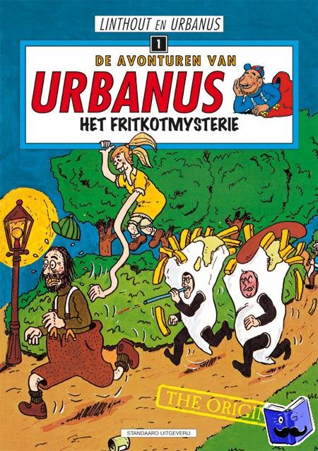 Linthout, Willy, Urbanus - Het fritkotmysterie