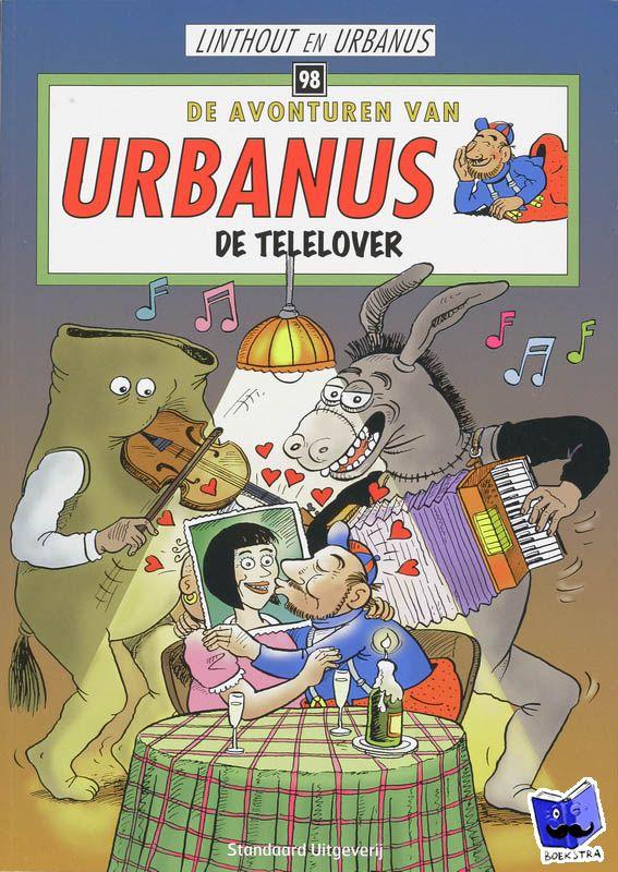 Urbanus - De avonturen van Urbanus De telelover