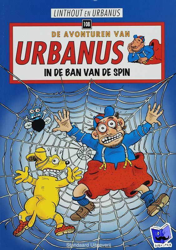 Linthout, Willy, Urbanus - In de ban van de spin