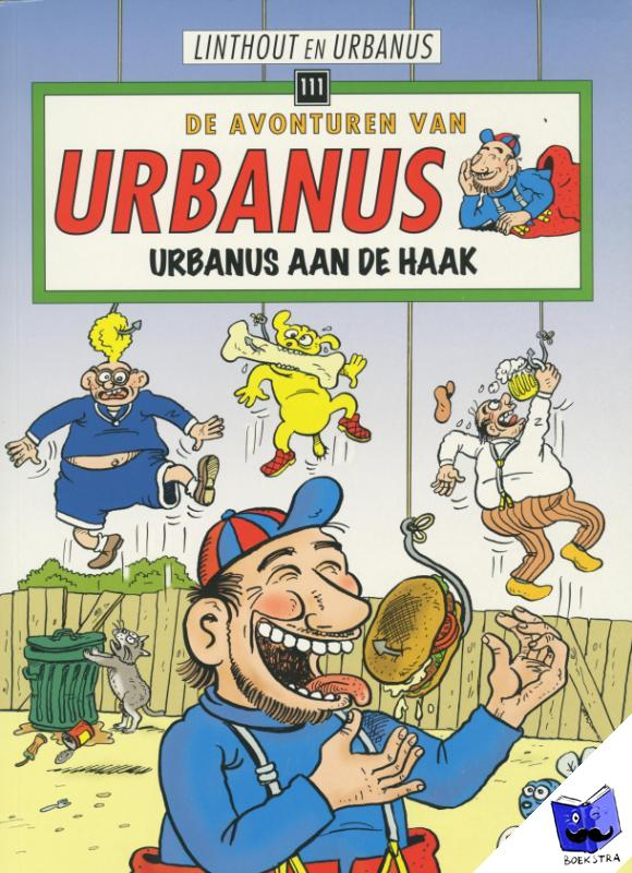 Linthout, Willy, Urbanus - De avonturen van Urbanus Urbanus aan de haak