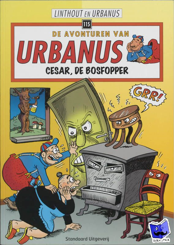 Linthout, Willy, Urbanus - Cesar, de bosfopper