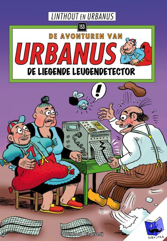 Linthout, Willy, Urbanus - De liegende leugendetector