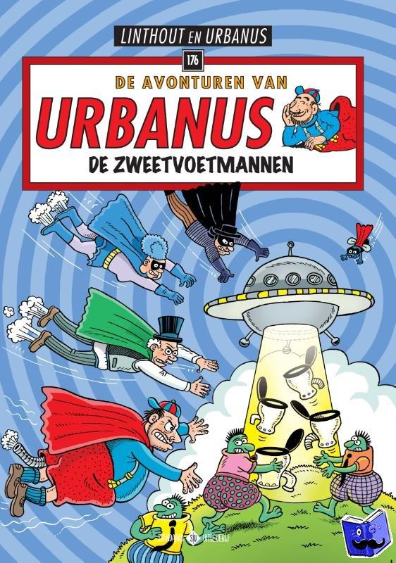 Linthout, Willy, Urbanus - 176 De Zweetvoetmannen