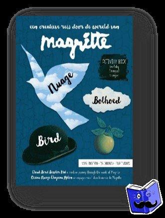 Elseviers, Liesbeth - Magritte activity book voor kinderen - nuage, bolhoed, bird