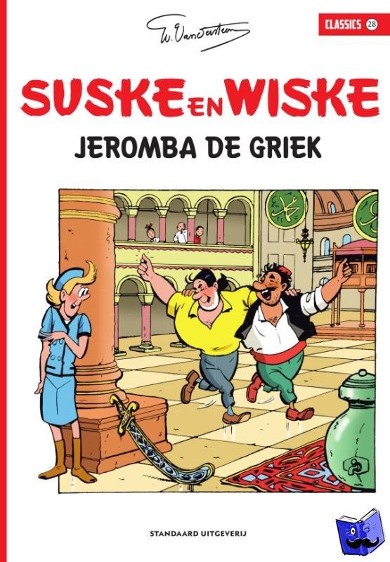 Vandersteen, Willy - Jeromba de Griek