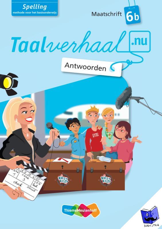 Berg, Hetty van den, Berg, Tamara van den, Driel-Copper, Jannie van, Engelbertink, Irene - Taalverhaal.nu Spelling Antwoorden Maatschrift B G