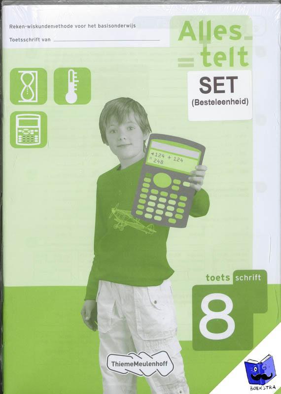 - Alles telt 8 toetsboekjes 5x