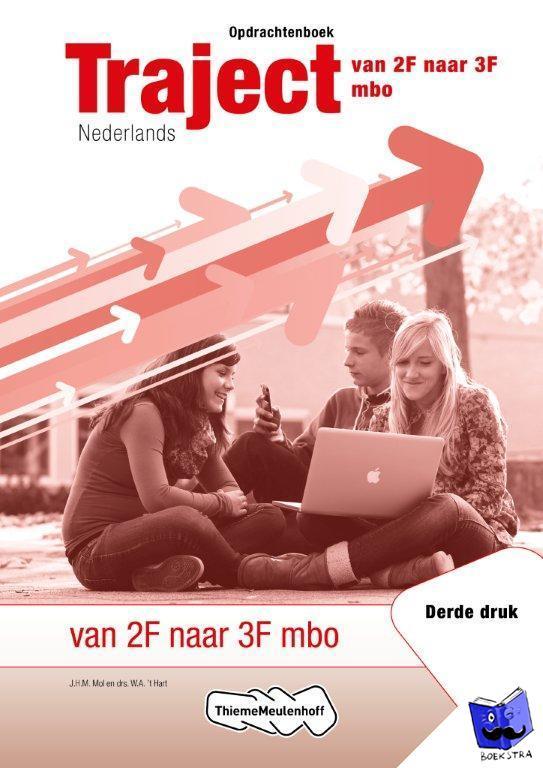 Mol, J.J.M., Hart, W.A. 't - Traject Nederlands Opdrachtenboek deel 1 Niveau 3