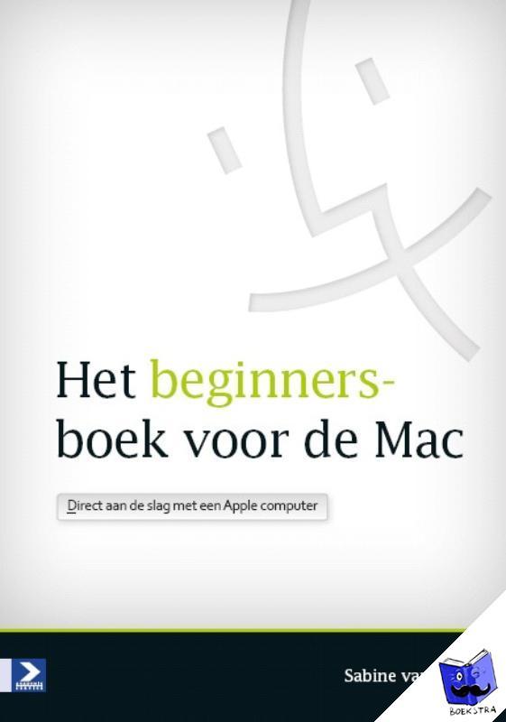 Erp, Sabine van - Het beginnersboek voor de Mac