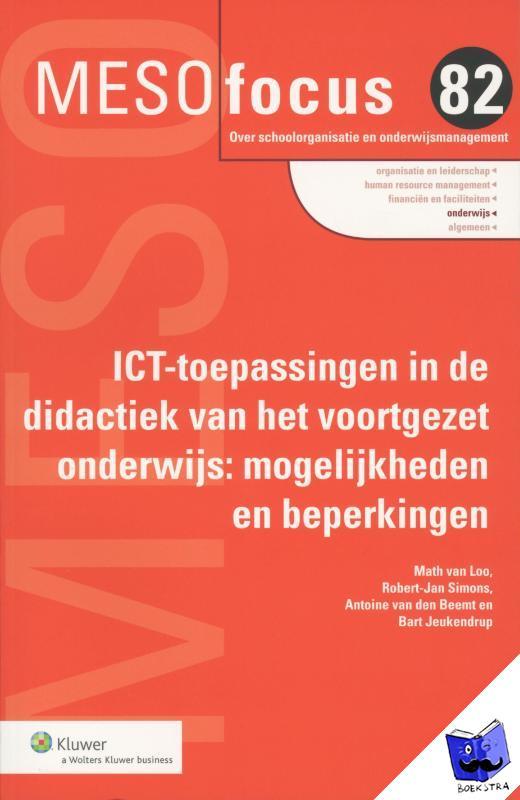 Someren, Marjolein van - ICT-toepassingen in de didactiek van het voortgezet onderwijs - POD editie