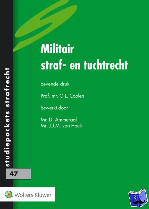 - Militair Straf- en Tuchtrecht - POD editie