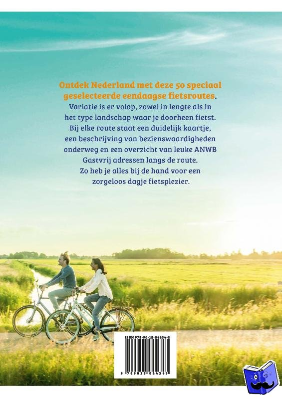 ANWB - ANWB Fietsgids Nederland (ringband met omslag)
