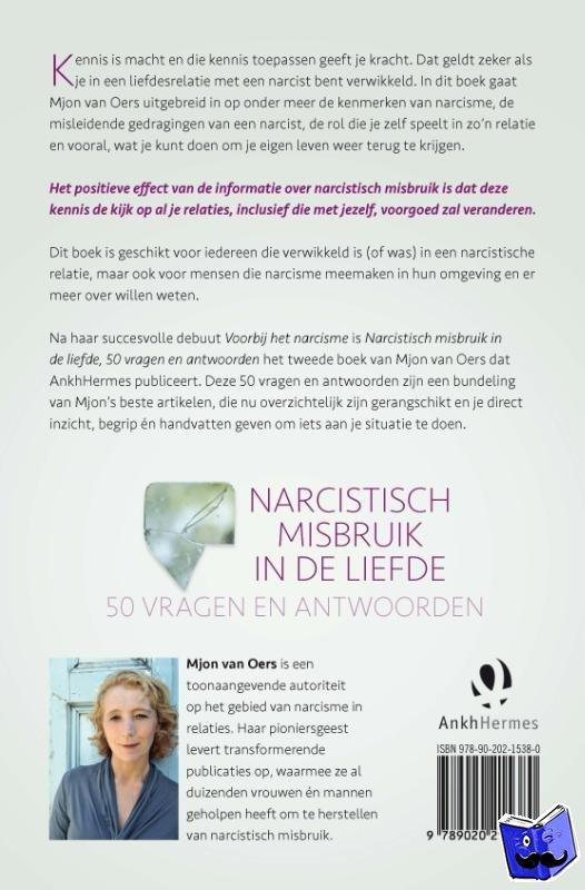 Oers, Mjon van - Narcistisch misbruik in de liefde - POD editie