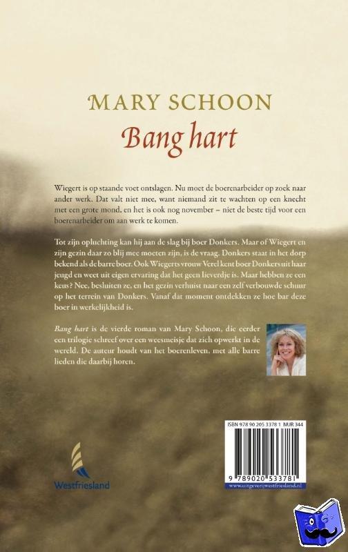 Schoon, Mary - Bang hart - POD editie