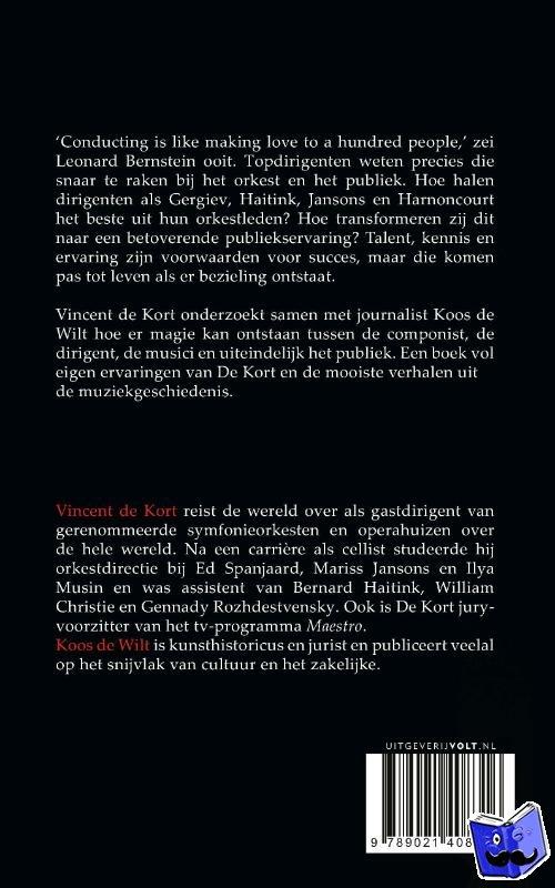 Kort, Vincent de, Wilt, Koos de - De magie van de maestro