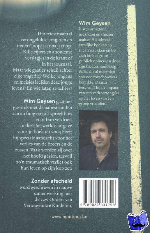 Geysen, Wim - Zonder afscheid