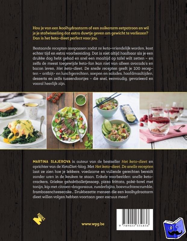 Slajerova, Martina - Het ketodieet: de snelle recepten