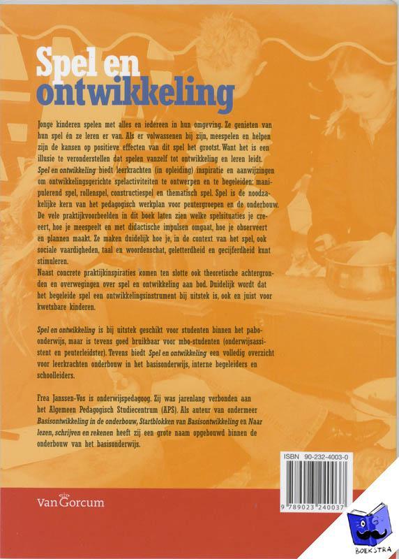 Janssen-Vos, F. - Spel en Ontwikkeling