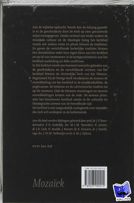 - Het kerklied - POD editie