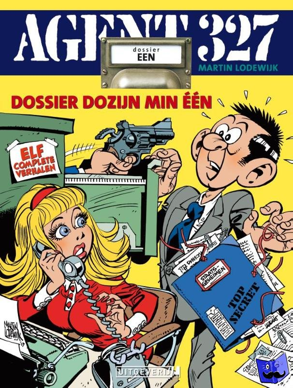 Lodewijk, Martin - Agent 327 - Dossier 1 - Dozijn min Eén (sc)