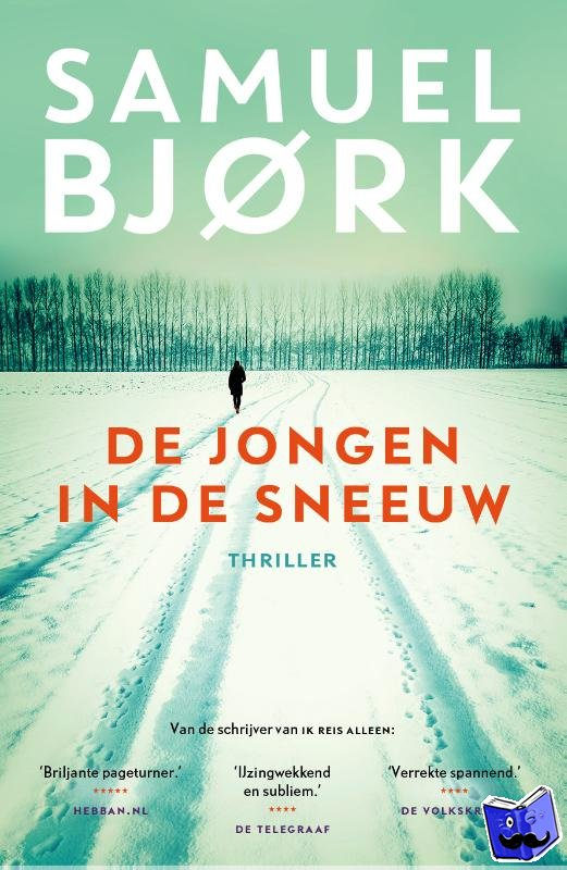 Bjork, Samuel - De jongen in de sneeuw