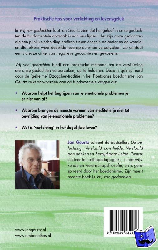 Geurtz, Jan - Vrij van gedachten