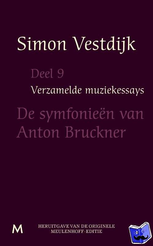 Vestdijk, Simon - Verzamelde muziekessays  Deel 9 - POD editie