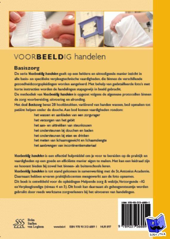 Wout, Johan van 't, Stipdonk, Cees van, Siereveld, Geerard - Voorbeeldig handelen basis