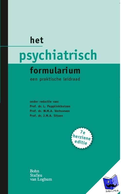 - Het psychiatrisch formularium