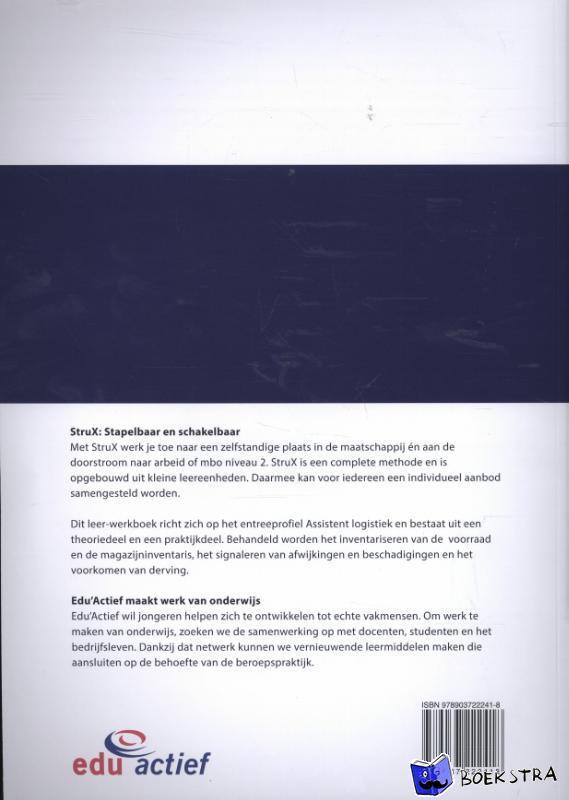Mulder, Tessel - StruX Assistent logistiek - deel 6 van 6 - Inventariseert de voorraad/magazijninventaris
