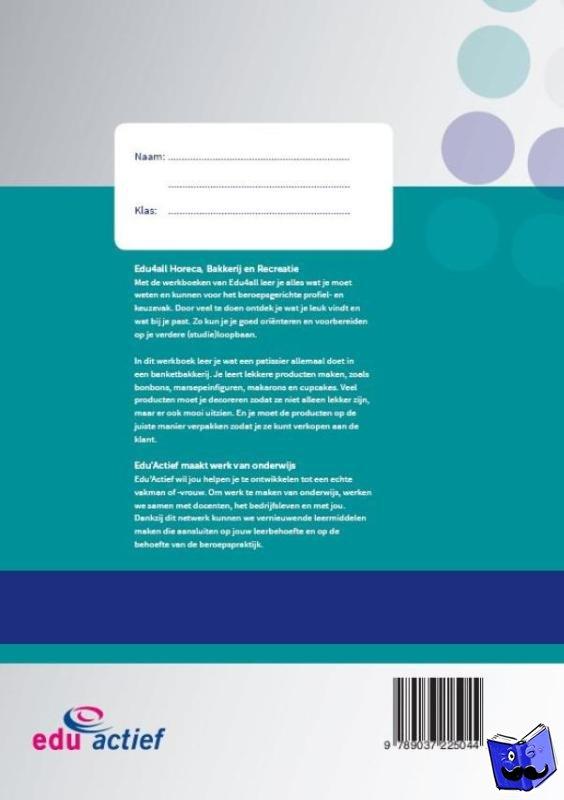Bankras, Dik - werkboek