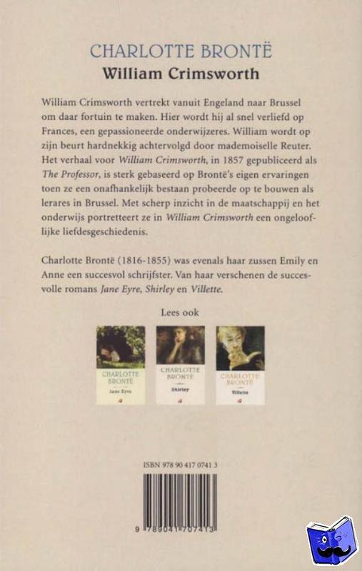 Brontë, C. - William Crimsworth